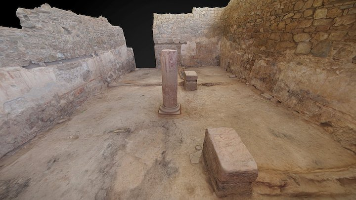 The Molinete's 13 Room, Cartagena, Spain 3D Model