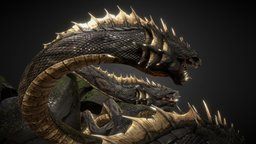 Hydra - Animated 3D Model