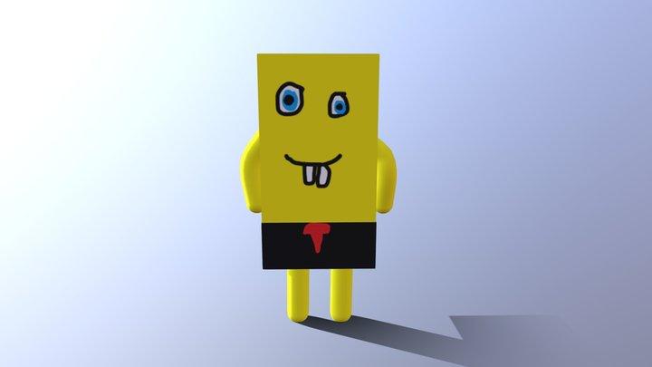 Spongebob 3d Model 3D Model