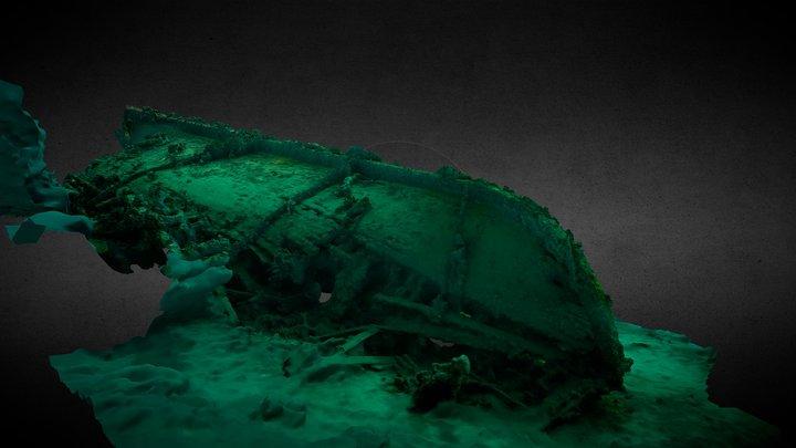 Shallow wreck 3D Model
