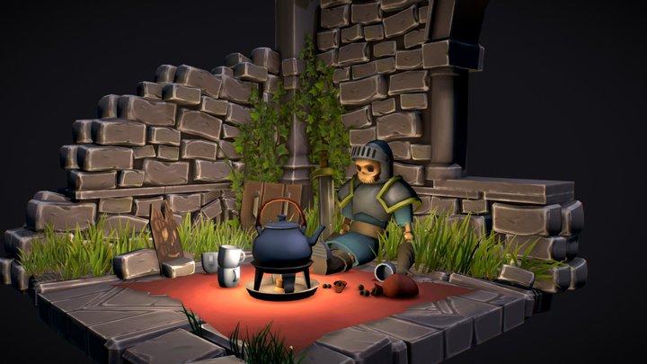 An adventurer last tea party 3D Model