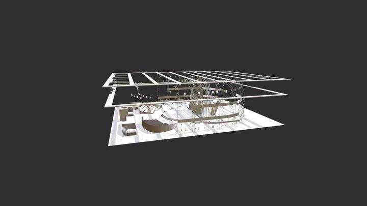 Thewall 3D Model