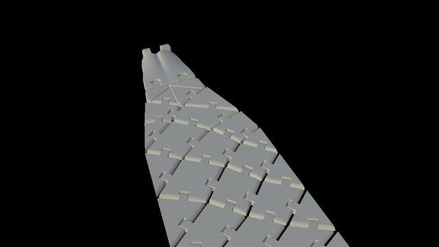 3dtie Necktie Top 3D Model