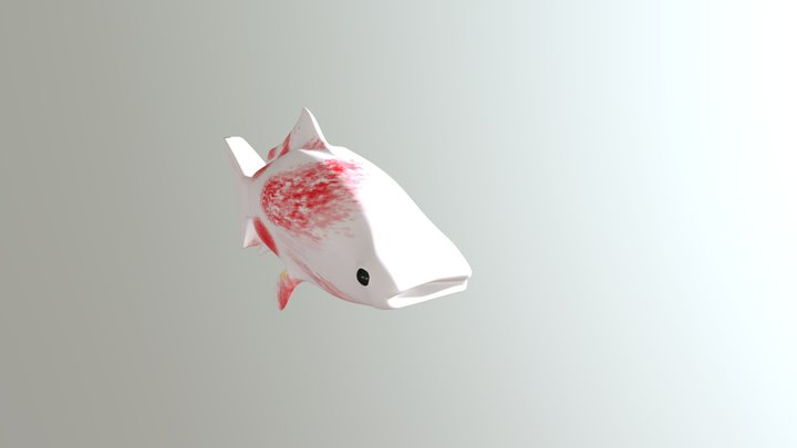 Monster Garden: Fish 3D Model