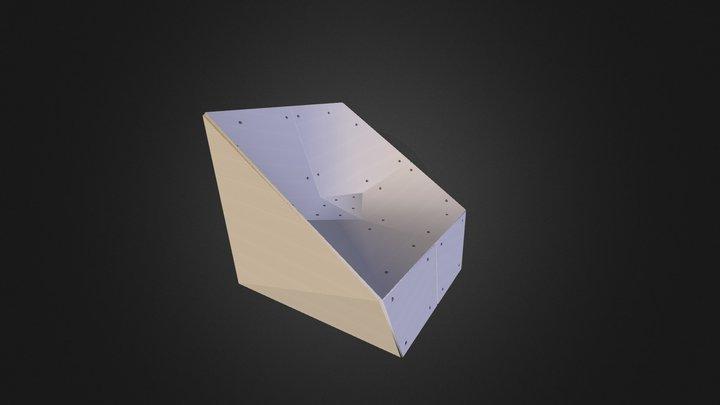 Spooning Armchair 3D Model