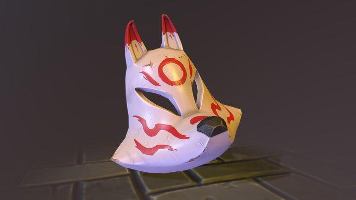 Ocean Goddess' Mask 3D Model