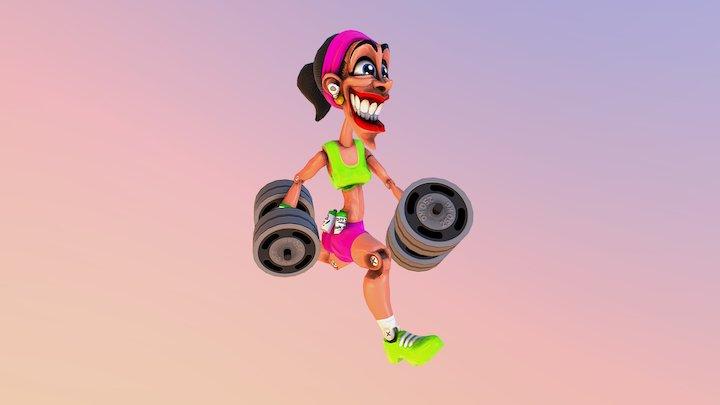 Betsy! 3D Model
