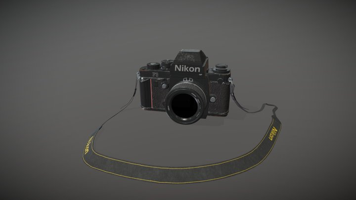 Nikon f3 3D Model