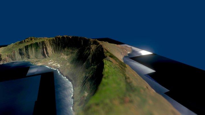 El Hierro 3D Model