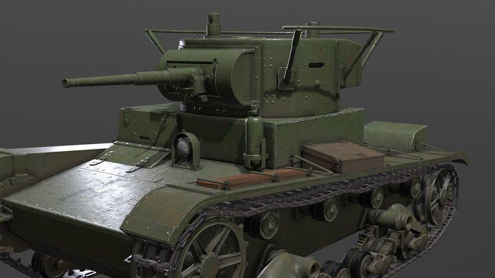 T26 3D Model