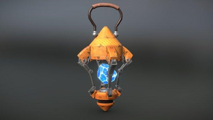 Lamp Sci-fi 3D Model