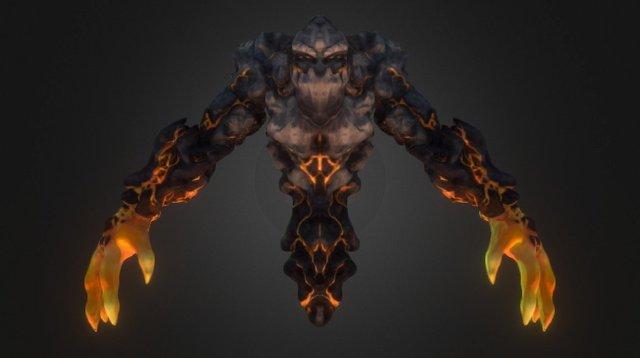 Dungeon Boss 3D Model