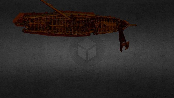 Shipwreck of the Esmeralda Corvette, Chile 3D Model