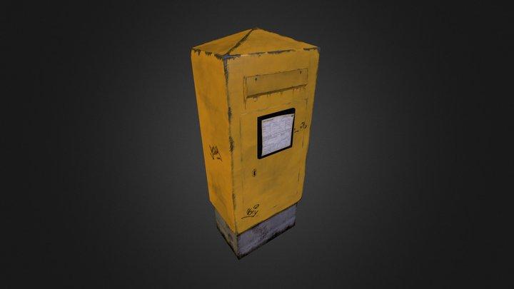 German Mailbox 3D Model