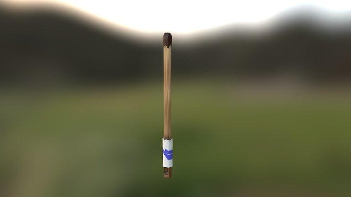 Cinnamon Stabber (Katana) 3D Model