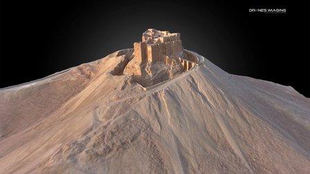 Palmyra Castle - Syria 3D Model