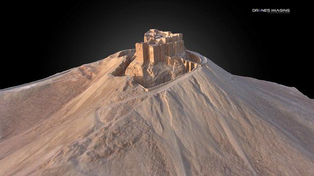 Palmyra Castle - Syria 3D Model