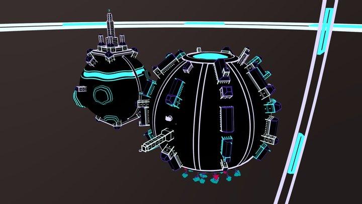 Lumivers - Monde 2 3D Model
