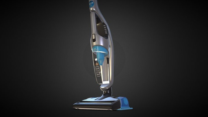 Vacuum cleaner Philips Aqua FC6408 3D Model
