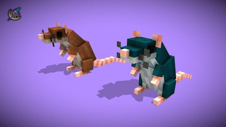 DA | Rat 3D Model