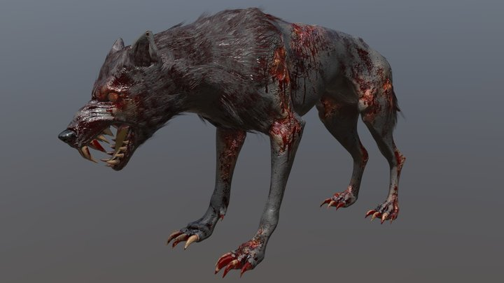 The Wolf 3D Model