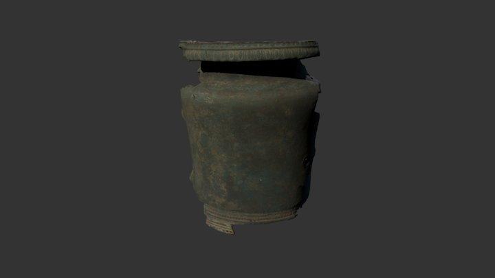 Bronze Jar, 6th-5th century BCE 3D Model