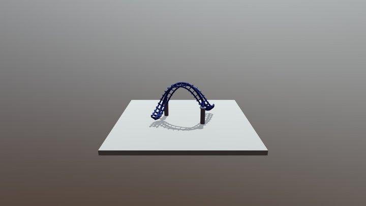 Corkscrew 3D Model