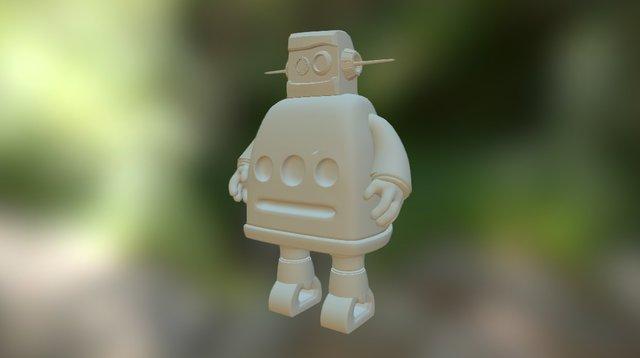 Instructable Robot V2 3D Model