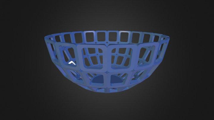 Semi Sphere 3D Model