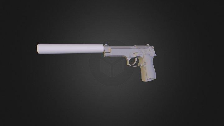 Weapon / Beretta M9 3D Model
