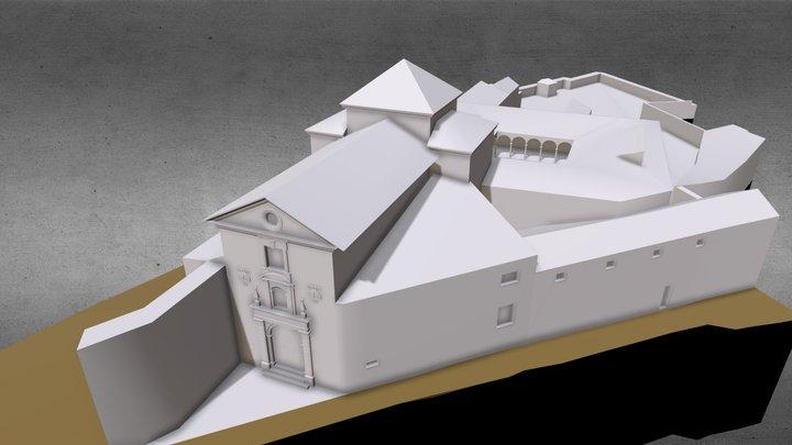 Convento de Ntra Sra de la Limpia Concepción 3D Model