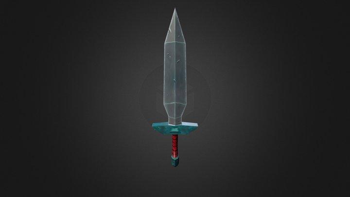 Blade Diffuse 3D Model