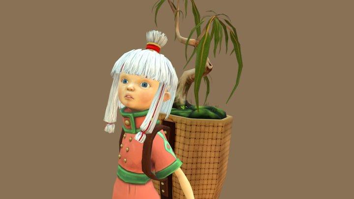 Tóku's Idle 3D Model