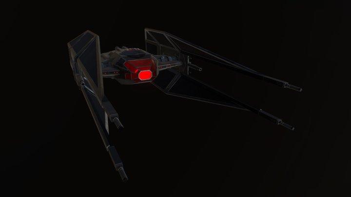 TIE/vn Silencer 3D Model