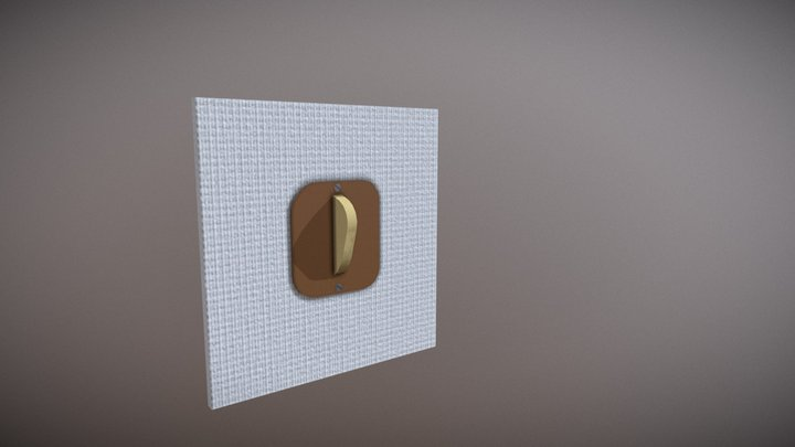 Room Switch 3D Model