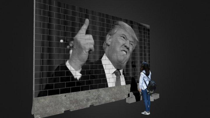 Trump's Wall 3D Model