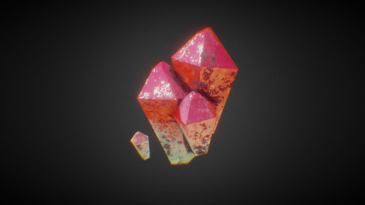 Cristales 3D Model