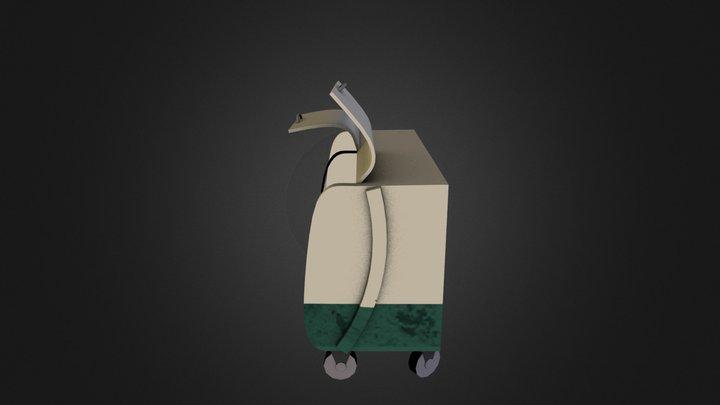 Dumpster - City Scene 3D Model