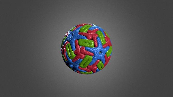Dengue Virus 3D Model