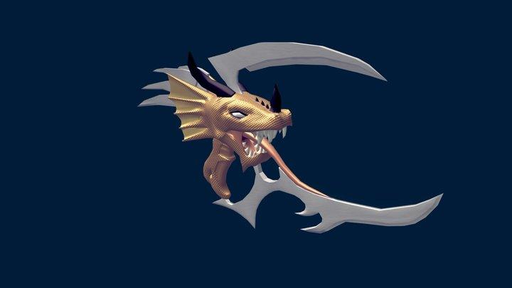 Dragon Blade 3D Model