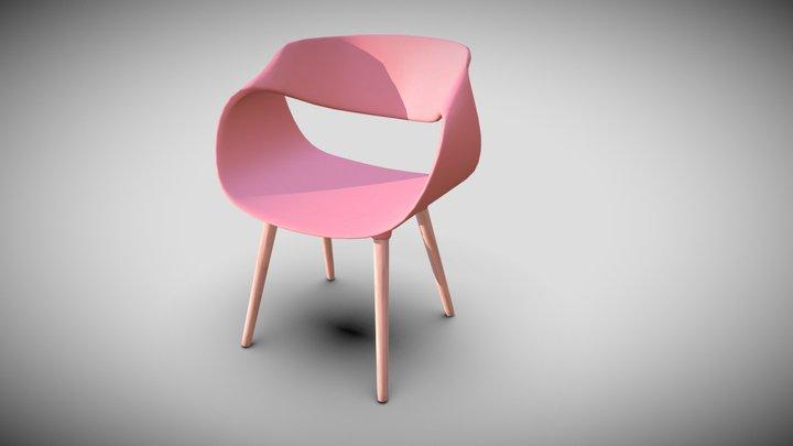 Design chair plastic 3D Model