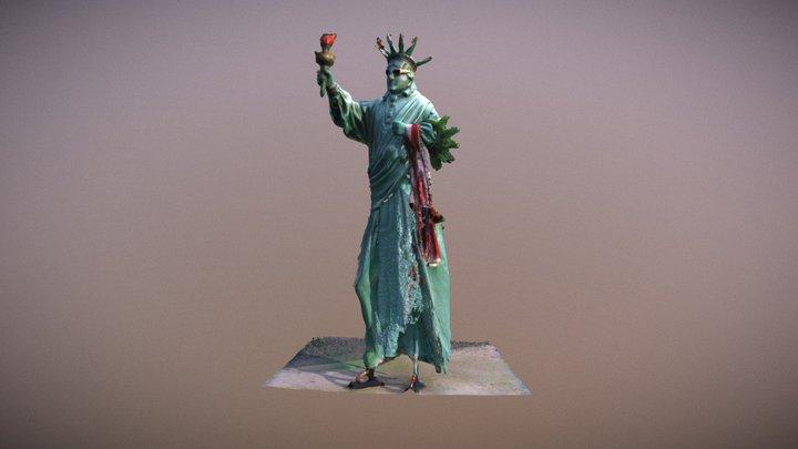 StatueOfLiberty 3D Model