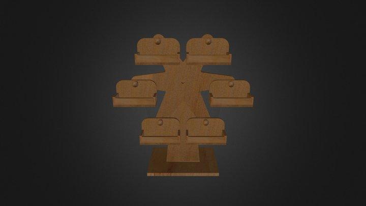 摩天輪 3D Model