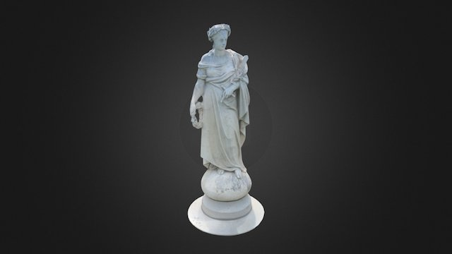 Soldiers' National Mounument - Liberty 3D Model