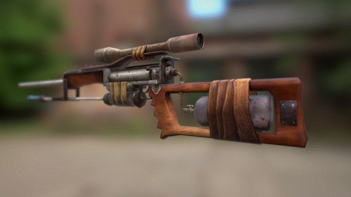 Apocalyptic Weapon escopeta 3D Model