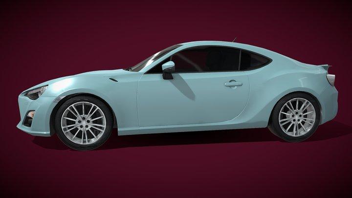 car for games unity 3D Model