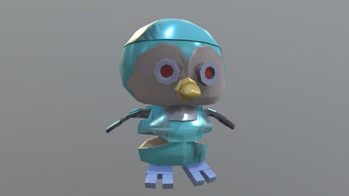 Mecha Cube 3D Model