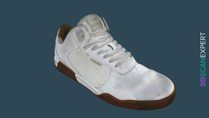 Supra Ellington Sneaker — Artec Space Spider 3D Model