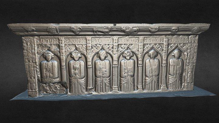 Mcgrath Tomb 3D Model