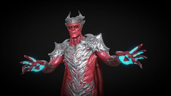 Warrior_Warlock 3D Model